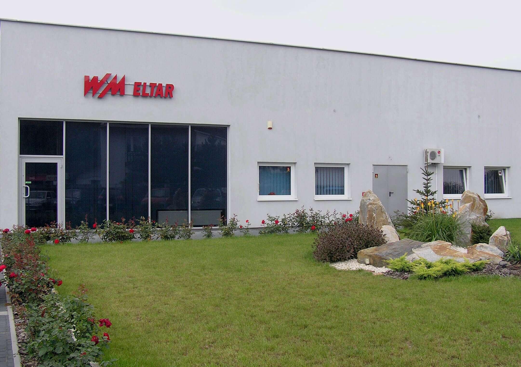 Bydynek siedziby firmy WM Eltar